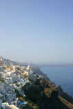 Зодчество Santorini Стоковые Фото