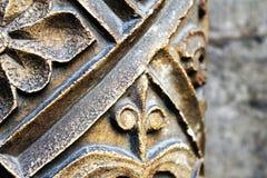 1193 1197 зодчеств высекая белизну vladimir st России памятника demetrius собора каменную уникально Стоковое фото RF