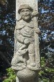 1193 1197 зодчеств высекая белизну vladimir st России памятника demetrius собора каменную уникально Стоковые Фотографии RF