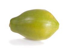 Зрелая изолированная папапайя Стоковое Изображение RF