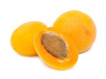 зрелое абрикосов померанцовое Стоковое фото RF