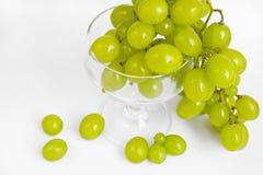зрелое виноградины зеленое Стоковое фото RF