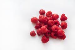 Зрелые красные поленики на белизне Стоковая Фотография