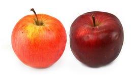 Зрелые красные яблоки Стоковые Фотографии RF
