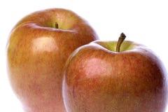 Зрелые красные яблоки Стоковое Изображение
