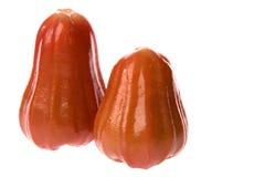 Зрелые красные guavas яблока Стоковые Фото
