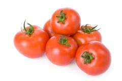 зрелые томаты стоковые изображения rf