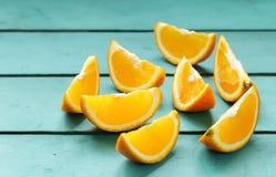 Зрелый органический апельсин Стоковое Изображение RF