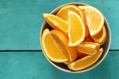 Зрелый органический апельсин Стоковое Изображение