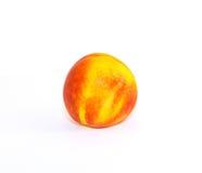 Зрелый сладостный персик нектарина Стоковое Изображение