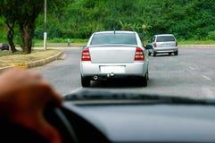 зрение водителя s Стоковое Изображение