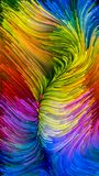 Зрение краски цифров Стоковые Изображения RF
