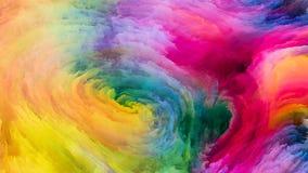 Зрение краски цифров Стоковая Фотография