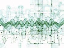 Зрение передач данных Стоковые Изображения