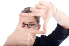 зрение принципиальной схемы дела новое Стоковое Изображение RF