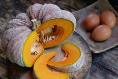 зрелая тайская тыква с яичками Стоковые Изображения RF