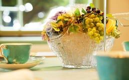 Зрелище ваз цветка в комнате Стоковые Фото