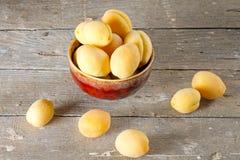 зрелое абрикосов сочное Стоковое Изображение