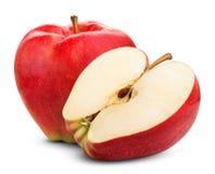 зрелое яблока красное Стоковые Фотографии RF