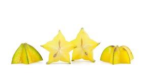Зрелое яблоко звезды Стоковые Изображения RF