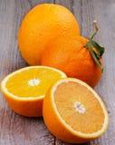 Зрелые апельсины Стоковое Изображение