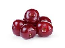 Зрелые вишни без стержней Стоковые Фото