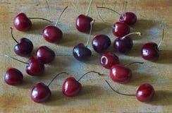 Зрелые вишни Стоковые Изображения