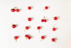 Зрелые и очень вкусные вишни Стоковое Изображение RF