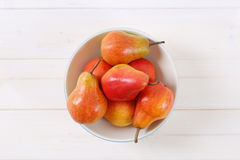 Зрелые красные груши Стоковая Фотография RF