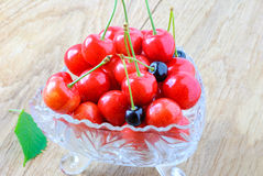 Зрелые плодоовощи вишни Стоковое Фото