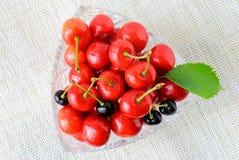 Зрелые плодоовощи вишни Стоковое Изображение