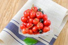 Зрелые плодоовощи вишни Стоковые Изображения