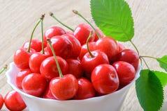 Зрелые плодоовощи вишни Стоковая Фотография RF