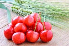 Зрелые плодоовощи вишни Стоковое фото RF
