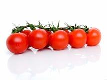 Зрелые свежие томаты вишни Стоковое фото RF