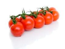 Зрелые свежие томаты вишни Стоковая Фотография RF