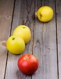 Зрелые яблоки Стоковое Фото