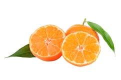 Зрелые tangerines Стоковые Изображения RF