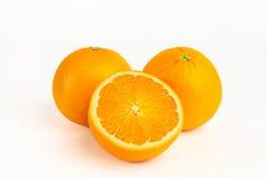 Зрелый апельсин Стоковое Фото
