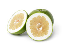 Зрелый зеленый цитрус sweetie стоковые фотографии rf