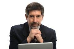 Зрелый испанский бизнесмен Стоковая Фотография