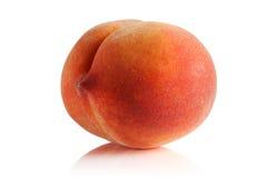 Зрелый и сочный персик Стоковые Изображения