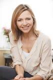 Зрелый портрет женщины стоковые фотографии rf
