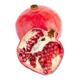 Зрелый плодоовощ гранатового дерева Стоковые Изображения RF