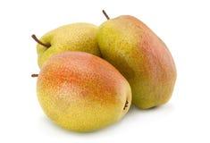 Зрелый плодоовощ груши на белизне Стоковое Изображение