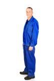 Зрелый работник в форме Стоковые Изображения RF