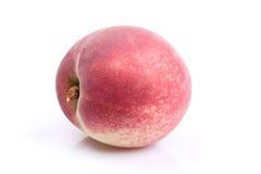 Зрелый сочный персик, нектарин Стоковая Фотография