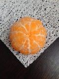 Зрелый tangerine Стоковая Фотография