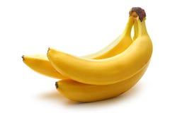 3 зрелых банана Стоковое фото RF