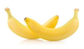 2 зрелых банана Стоковое Фото
